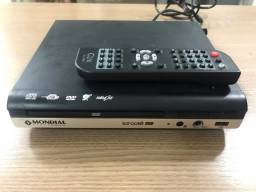 DVD Player com karaokê