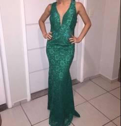 Título do anúncio: Vestido longo verde