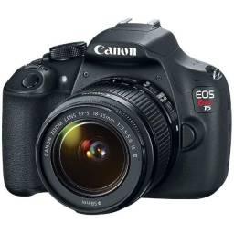 Câmera profissional T5 Canon