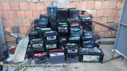 sucata  de baterias  50,00