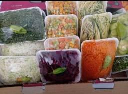 Verduras prontas para consumo