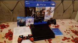PS4 slim 1TB - Semi novo