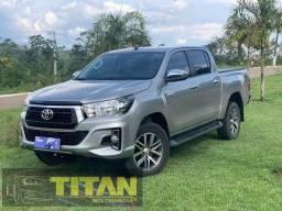 Hilux 4x4 SRV 2020. Ent. R$ 45.000 - Titan Multimarcas