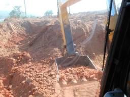 Locação de Máquinas - Escavadeira Hidráulica Komatsu