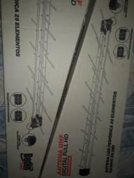 Antena digital com cabo 10m