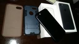 Iphone 7 preto matte com 256 tb
