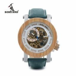 Relógio Luxo Bobo BIRD - Mecânico - Não Usa Bateria