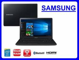 "Notebook Samsung Core i3/2.1Ghz/6GbMemoria/Hd500/WebCam/Tela Led 14""/ - conservado"