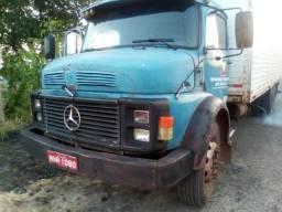Mb 1114 ano 88 truck baú - 1988