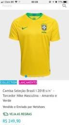 Vendo camisa oficial da seleção brasileira