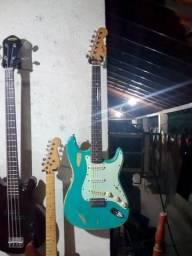 Guitarra Squier Koreana 98 c/ Captadores Kent Armstrong