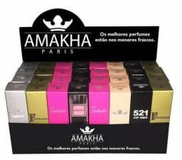 Perfumes Amakra Versão mini - para caber no seu bolso , Fem e Masc
