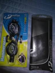 Óculos e touca para piscina Hammerhead