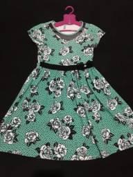 Vestido Turma da malha Tam 14 45$