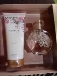 Perfume e sabonete liquido