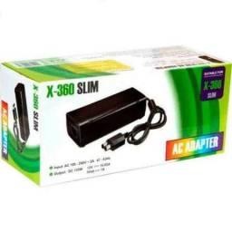 Fonte Slim Bivolt Para Xbox 360 2 Pinos (Fazemos Entregas a Domicílio Grátis)