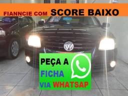 Vw - Volkswagen Gol Financiamento com Score Baixo - 2008