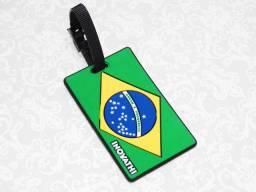 Etiqueta de viagem Brasil
