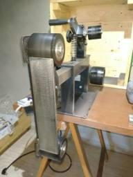 Lixadeira Profissional para cutelaria com motor e inversor de frequencia