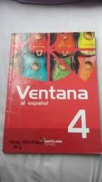 Livro didático Ventana de espanhol