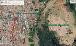 Lote bairro Santuário 429 m² - 14,3 m de Frente, Escriturado pronto pra transferir