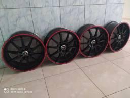 Vendo rodas aro 17  multifuros