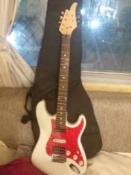 Guitarra strato shelter com captadores Sergio rosar comprar usado  Porto Alegre