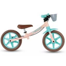 Bicicleta Sem Pedal Balance Bike Infantil Feminina Nathor Love