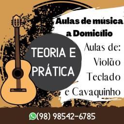 Aulas de música a Domicílio