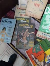 Livros de partituras de carnaval