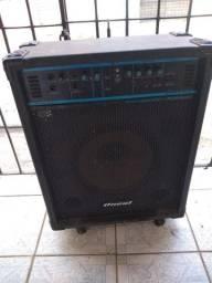 Caixa amplificado oneal auto falante 12 ZAP 988-540-491