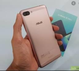 Smartphone Asus Max M1, Dourado, em exelente estado de conservação.