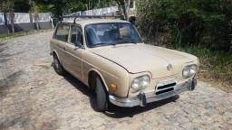 Volkswagen Variant Bege 1970