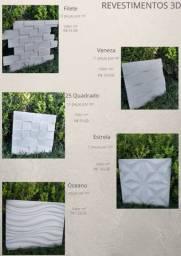 Revestimentos 3D de Cimento