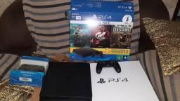 Playstation 4 novo com nota fiscal e é garantia