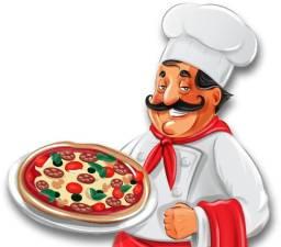 Pizzaiolo com experiência e que saiba cozinhar e assar pizza