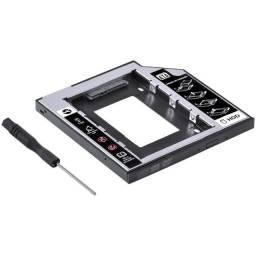 Adaptador Vinik Caddy AC-95 para HD ou SSD, Leitor de DVD/CD Notebook
