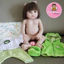 Bebê Reborn silicone que faz xixi