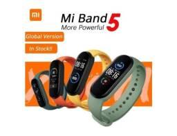 Relógio Xiaomi Mi Band 5 Preto / Produto Novo