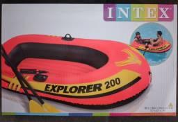Bote inflável Explorer Novo lacrado na caixa