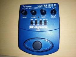 Pedal Behringer Guitarra Simulador De Amplificador Gdi21