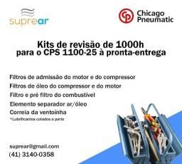 Kit de manutenção 1000h Chicago Pneumatic CPS1100-25