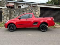 GM Chevrolet Montana 1.4 LS Completa + Lift pneus - Financio aceito trocas
