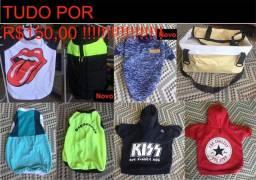 Roupinhas pet de qualidade promoção- 7 casacos + cadeirinha R$150