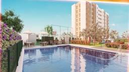 RS Seu Condomínio Clube em Candeias 2 quartos, Piscina e Elevador, casa verde amarela!
