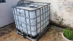 Bombona IBC 1000 litros metálica