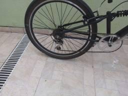 Bicicleta aro 26 dois amortecedores