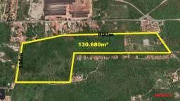 Terreno em Aquiraz com 130.680m² ou 13 hectares, excelente para Loteamento