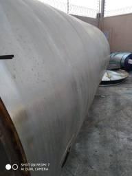 Título do anúncio: Tanque inox 304 com revestimento poliuretano e aço inox, volume 10.000 litros