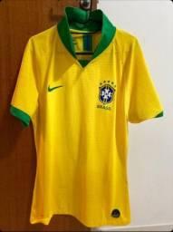 Camisa Seleção Brasileira Original -M - Semi nova